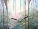 An Owl's Cathedral 76x102cm 30x40ins
