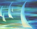 Sailing High 122x76cm 48x30ins